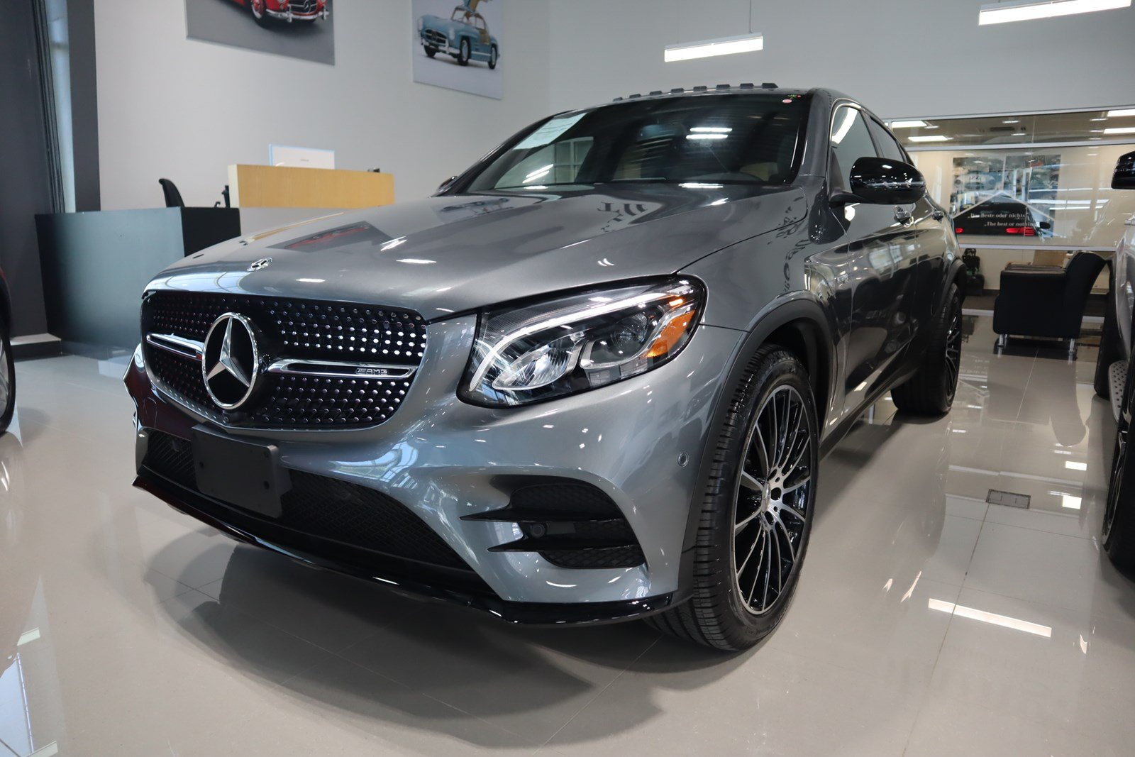 Certified Pre-Owned 2018 Mercedes-Benz GLC AMG® GLC 43 4MATIC® Coupe
