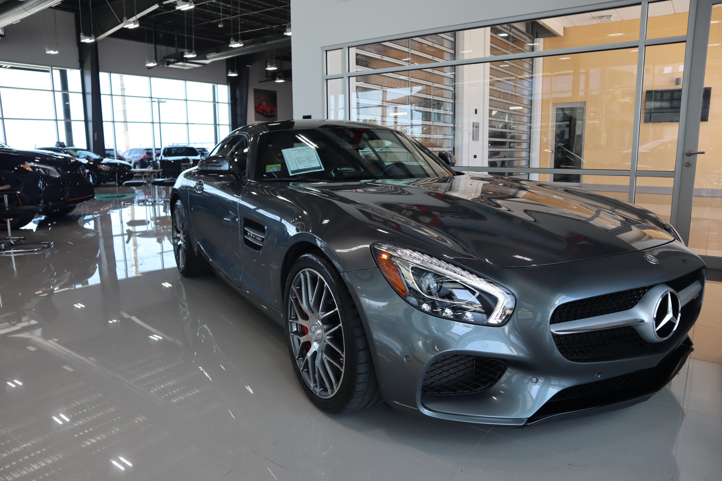 Pre-Owned 2017 Mercedes-Benz GT AMG® GT S