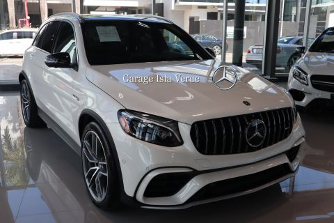 Pre-Owned 2019 Mercedes-Benz GLC AMG® GLC 63 SUV