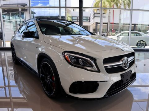 Pre-Owned 2018 Mercedes-Benz Gla AMG® GLA 45 4MATIC® SUV